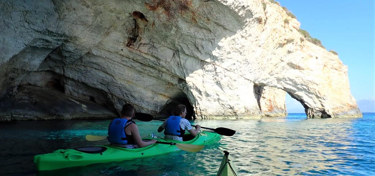 Sea Kayaking Zakynthos   Home